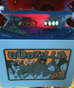 Coin Stealing Godzilla Money Box - with Lights & Sound Effects!