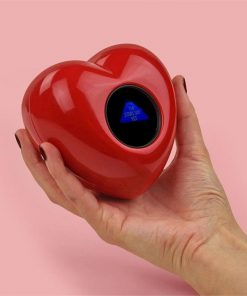 Love Is The Answer Heart Shaped Magic 8 Ball