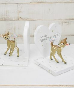 Bambi Let The Adventure Begin Heart Bookends Set of 2