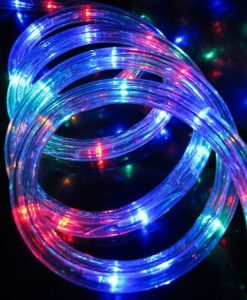 Multi Colour LED Tube Rope Light - 10m