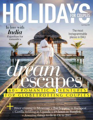 Holidays for Couples Magazine 12 Month Subscription