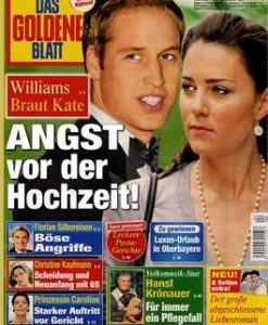 Das Goldene Blatt (Germany) Magazine 12 Month Subscription