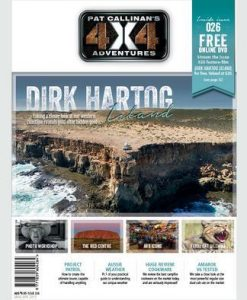Pat Callinan's 4X4 Adventures Magazine 12 Month Subscription