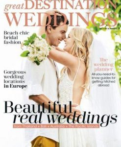 Great Destination Weddings Magazine 12 Month Subscription