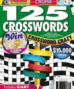 125 Crosswords Magazine 12 Month Subscription
