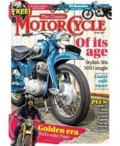 The Classic MotorCycle (UK) Magazine 12 Month Subscription