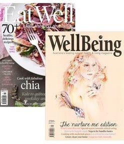 WellBeing & EatWell Bundle Magazine 12 Month Subscription