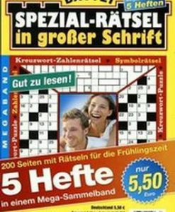 Spezial Ratsel in Grosser Schrift Sammelband Magazine 12 Month Subscription