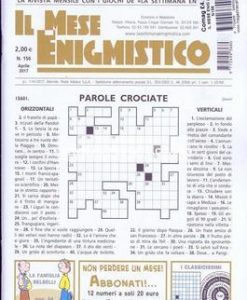 Il Mese Enigmistica Magazine 12 Month Subscription