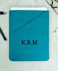 Personalised Initials Teal Tablet Case