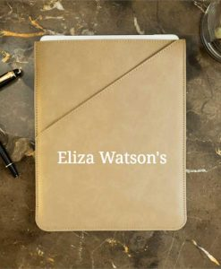 Personalised Taupe Tablet Case