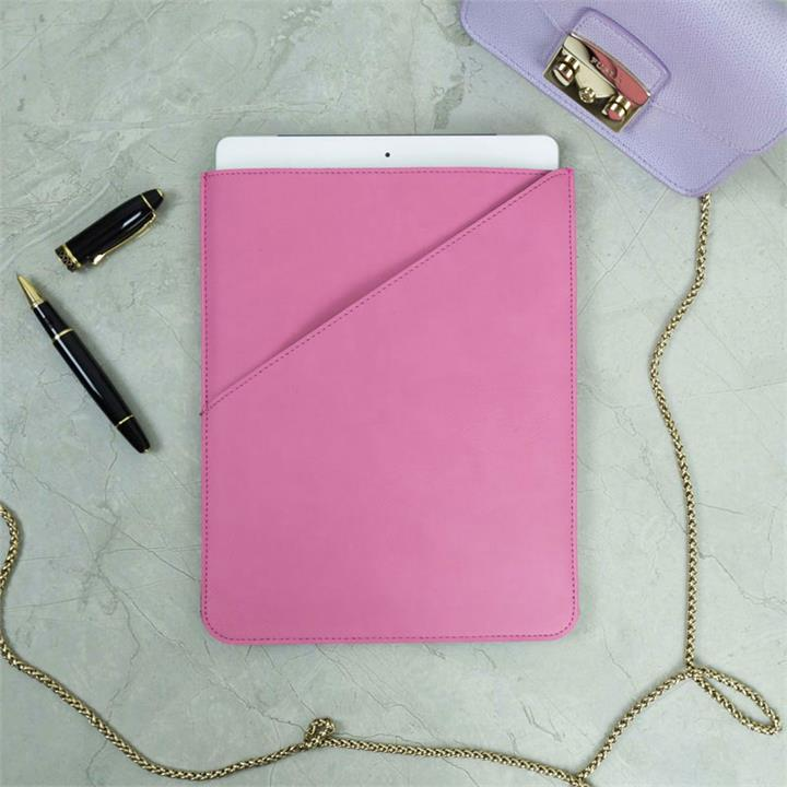 Pink Faux Leather Tablet Case