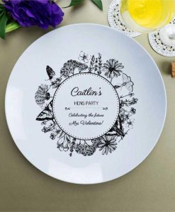 Personalised Hens Party Celebration Plate