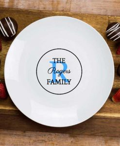 The Family Personalised Plate