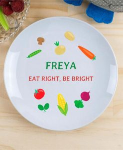 Vegetable Garden Personalised Plate