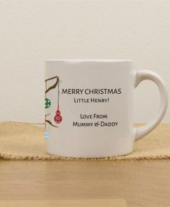 Christmas Owl Personalised Children's Mugs