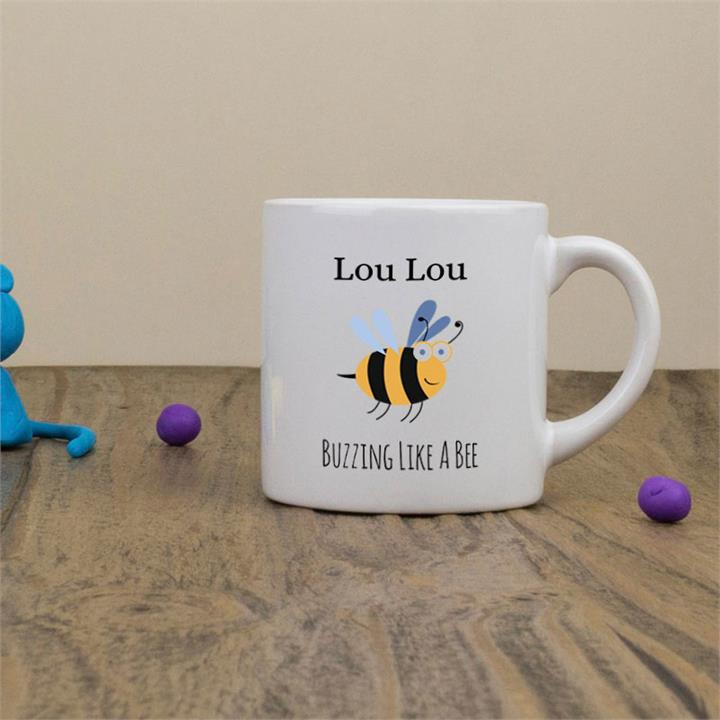 Busy Bee Personalised Children's Mug