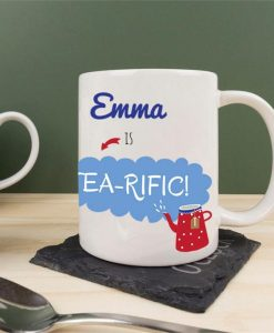 Tea-rific! Personalised Ceramic Mug
