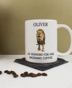 Roaring For It Personalised Mug