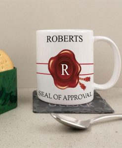 Official Seal Of Approval Personalised Mug
