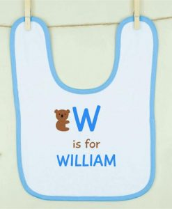 Cuddly Koala Boy Personalised Bib