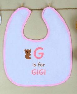 Cuddly Koala Girl Personalised Bib