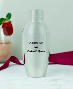 Personalised Queen Cocktail Shaker