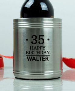 Big Birthday Personalised Stubby Holder