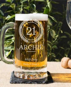 Your Age Glass Tankard