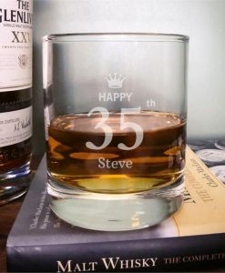 Birthday Wish Whisky Tumbler