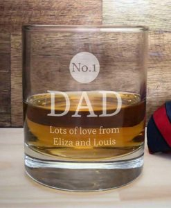 You're No.1! Personalised Whisky Tumbler