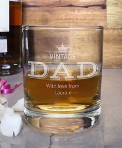 Vintage Father Whisky Tumbler