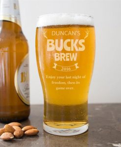 Bucks Brew Pint Glass
