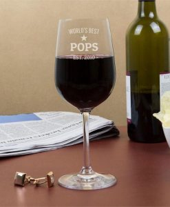 World's Best Personalised Wine Glasses