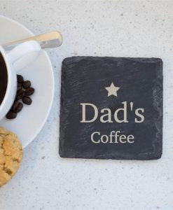 Personalised Star Slate Coasters