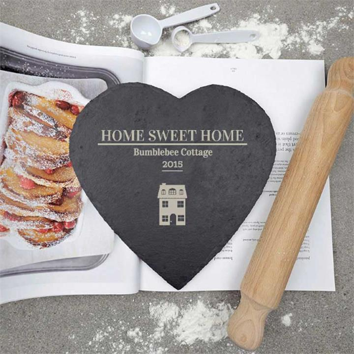 Home Sweet Home Personalised Slate
