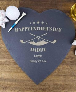 Happy Father's Day Personalised Slate