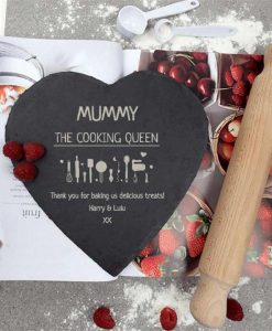 The Cooking Queen Slate Heart