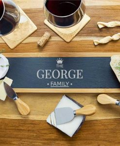 The Family Personalised Cheese Board