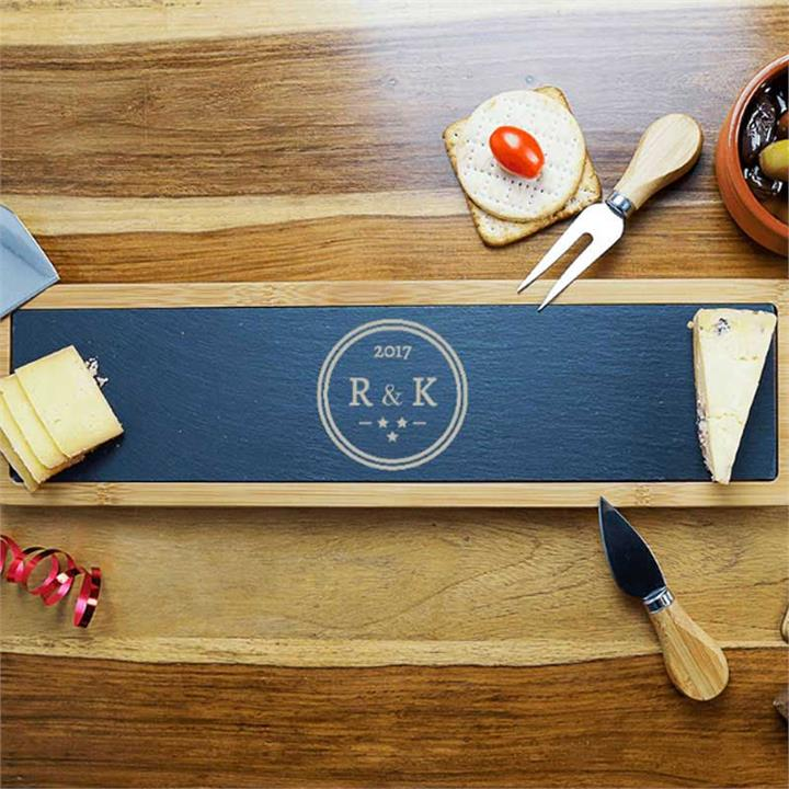 Personalised Initials Cheese Board