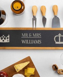 Mr & Mrs Cheese Board