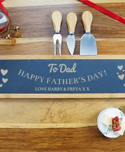 For Dad Serving Board