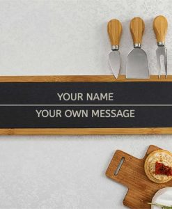 2 Line Message Cheese Board