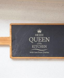 Queen of the Kitchen Personalised Serving Board