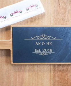 Personalised Initials Serving Board