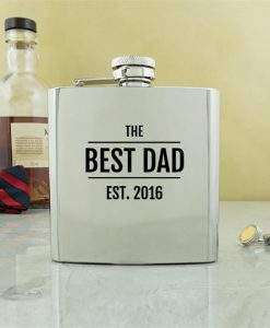 His Personalised Conventional Hip Flask