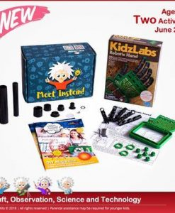 CreativKits for kids (4 Activities/ month) Magazine 12 Month Subscription