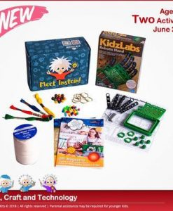 CreativKits for kids (Combo 1STEM+1CRAFT ACTIVITY) Magazine 12 Month Subscription