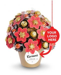 Personalised Corporate Christmas Chocolate Bouquet