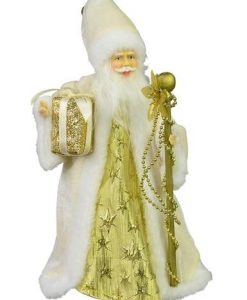 Traditional Father Christmas Tree Topper - 26cm